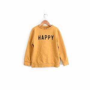 Jean + June Happy Sweatshirt